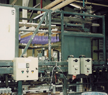 Microprocessor controlled automatic batch dipping plant